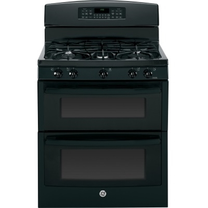 Picture of GE® 30'' Gas Double Oven - Black
