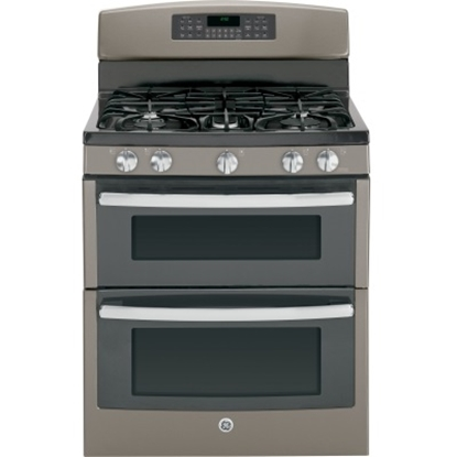 Picture of GE® 30'' Gas Double Oven - Slate