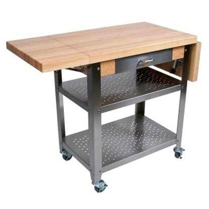 Picture of John Boos Cucina Elegante 50 Kitchen Cart - Maple