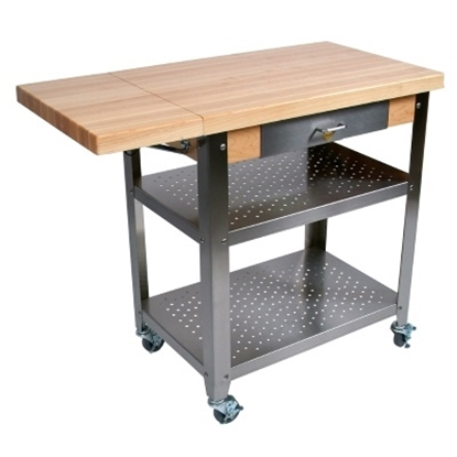 Picture of John Boos Cucina Elegante 40 Kitchen Cart - Maple