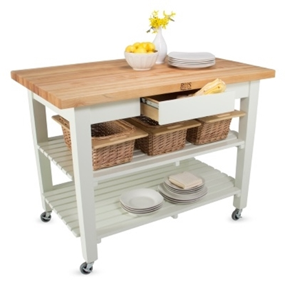 Picture of John Boos Classic Country Work Table - Cream