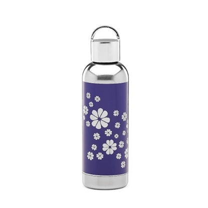 Picture of Kate Spade Nolita Blue Floral Water Bottle
