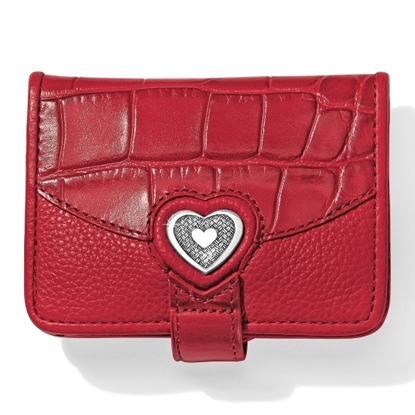 Picture of Brighton® Bellissimo Heart Wallet - Lipstick