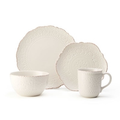 Picture of Pfaltzgraff Chateau Cream 16-Piece Dinnerware Set
