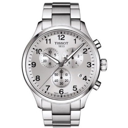Picture of Tissot Chrono XL Classic Stainless Steel Watch w/ Silver Dial