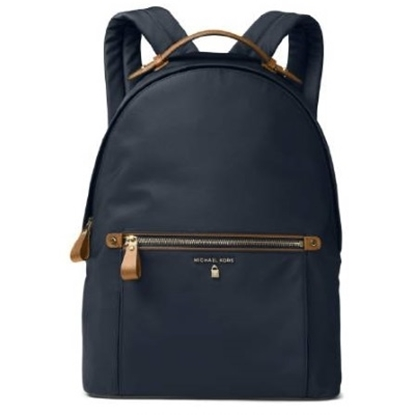 Picture of Michael Kors Nylon Kelsey Large Backpack - Admiral