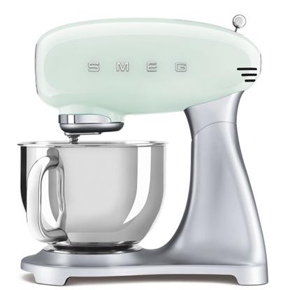 Picture of SMEG Retro Stand Mixer - Green Pastel