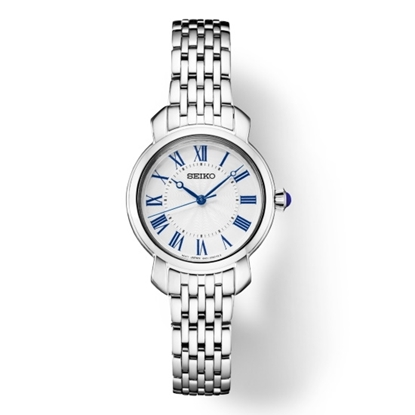 Picture of Seiko Ladies' Essential Steel Watch with White/Blue Dial