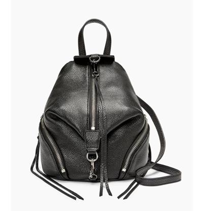 Picture of Rebecca Minkoff Convertible Mini Julian Backpack - Black