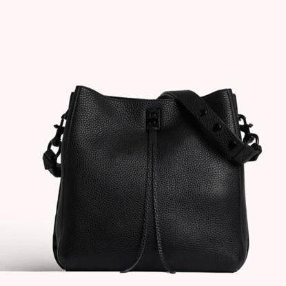 Picture of Rebecca Minkoff Darren Shoulder Bag with Black Hardware