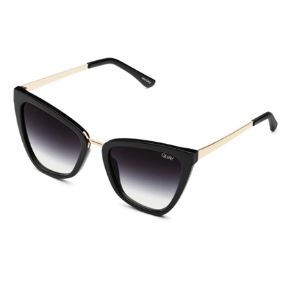 Picture of QUAY Reina Sunglasses - Black/Black Fade