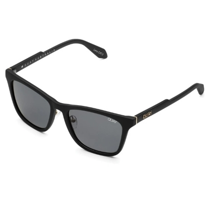 Picture of QUAY Reckless Sunglasses - Matte Black/Smoke
