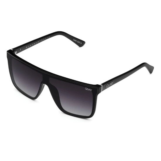 Picture of QUAY Nightfall Sunglasses - Black/Smoke