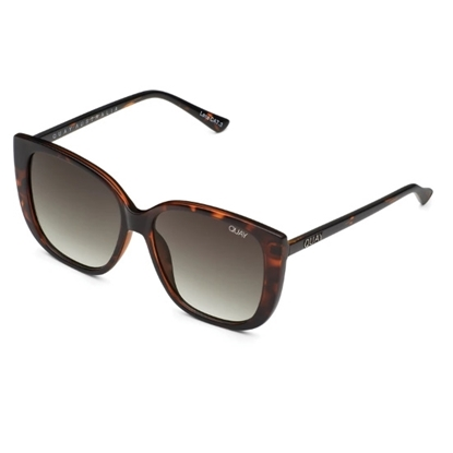Picture of QUAY Ever After Sunglasses - Tortoise/Smoke Taupe