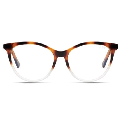 Picture of QUAY All Nighter Sunglasses - Tortoise Clear/Clear Blue Light