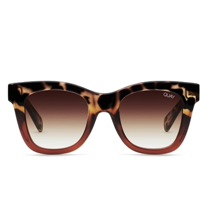 Picture of QUAY After Hours Sunglasses - Tortoise/Brown Fade