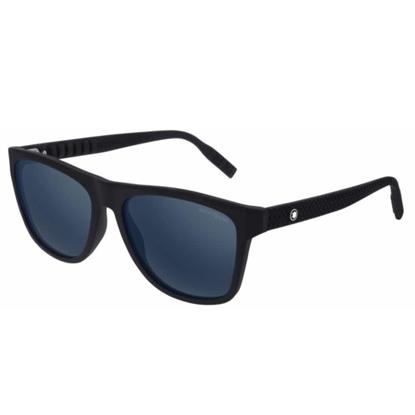 Picture of Montblanc Wayfarer Sunglasses - Black/Grey
