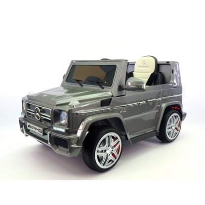 Picture of Mercedes G65 AMG 12V Kids Ride-On Car w/ Parental Remote- Gray