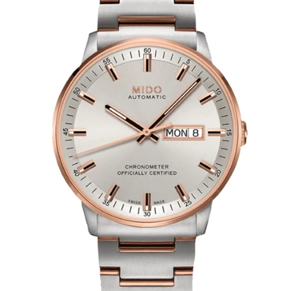 Picture of Mido Commander Chronometer Two-Tone Stainless Steel Watch