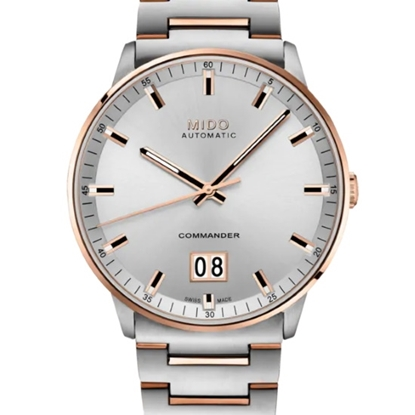 Picture of Mido Commander Big Date 42mm Two-Tone Stainless Steel Watch