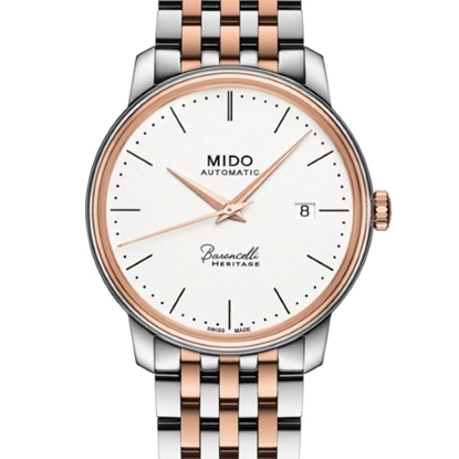 Picture of Mido Baroncelli III Automatic Two-Tone Stainless Steel Watch