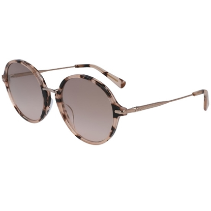 Picture of Longchamp Roseau Round Sunglasses - Marble Rose