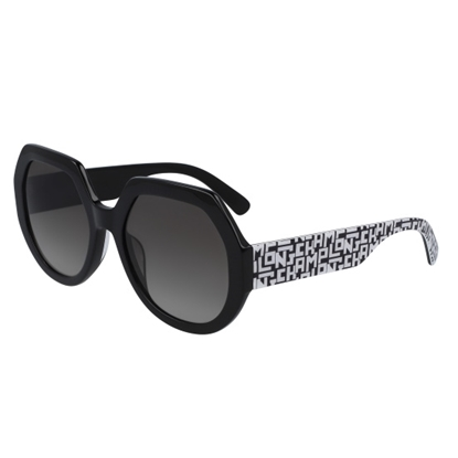 Picture of Longchamp Heritage Square Sunglasses - Black