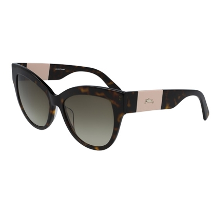 Picture of Longchamp Heritage Cat Eye Sunglasses - Havana