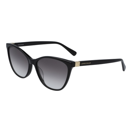 Picture of Longchamp Le Plaige Cat Eye Sunglasses - Black