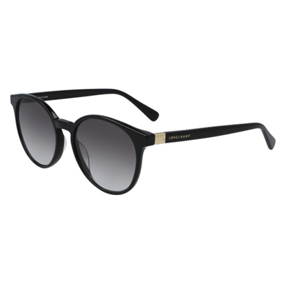 Picture of Longchamp Le Plaige Round Sunglasses - Black
