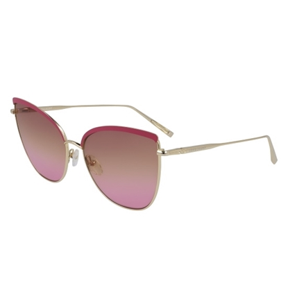 Picture of Longchamp Roseau Cat Eye Sunglasses - Gold/Rose