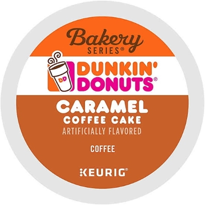 Picture of Keurig® Dunkin Donuts Caramel Coffee Cake K-Cups - 88-Pack