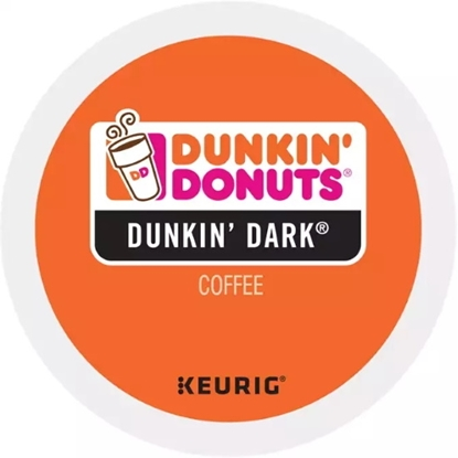 Picture of Keurig® Dunkin' Donuts Dark Roast Coffee K-Cups - 88-Pack