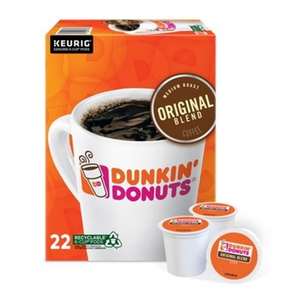 Picture of Keurig® Dunkin' Donuts Original Blend K-Cups - 88-Pack
