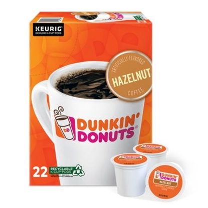Picture of Keurig® Dunkin' Donuts Hazelnut Coffee K-Cups - 88-Pack