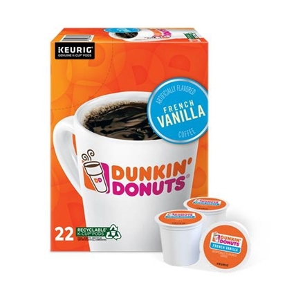 Picture of Keurig® Dunkin' Donuts French Vanilla K-Cups - 88-Pack