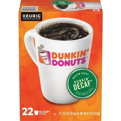 Picture of Keurig® Dunkin' Donuts Decaf Coffee K-Cups - 88-Pack