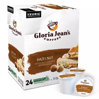 Picture of Keurig® Gloria Jeans Coffees Hazelnut K-Cups - 96-Pack