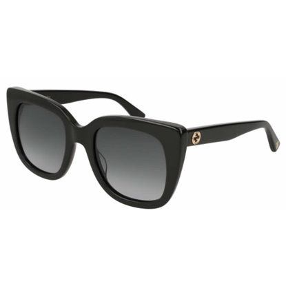 Picture of Gucci Diva Interlocking Logo Sunglasses - Black/Grey