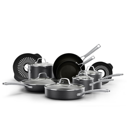 Picture of Calphalon Classic 14-Piece Cookware with No-Boil-Over Inserts