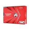 Picture of Callaway Chrome Soft Truvis Red Golf Balls - Two Dozen