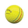 Picture of Callaway Chrome Soft Yellow Triple Track Golf Balls - 2 Dozen