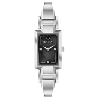 Picture of Bulova Ladies' Classic Bangle Watch with Black Dial