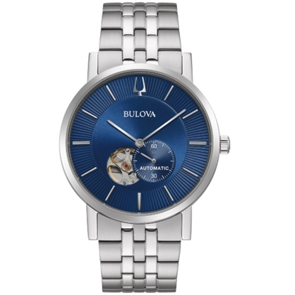 Picture of Bulova Men's American Clipper Watch with Blue Dial