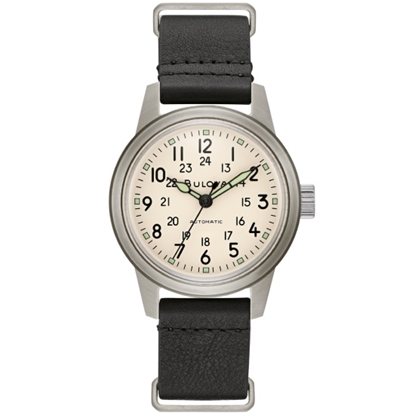 Picture of Bulova Men's Hack Watch with Vintage Dial & NATO Strap