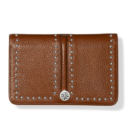 Picture of Brighton Pretty Tough Medium Zip Wallet - Bourbon