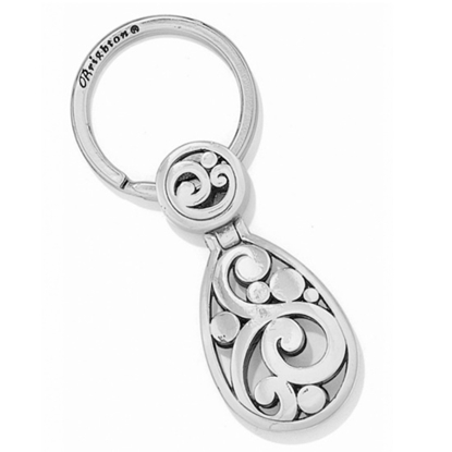 Picture of Brighton Silver Contempo Keyfob