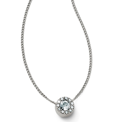 Picture of Brighton Illumina Mini Solitaire Necklace