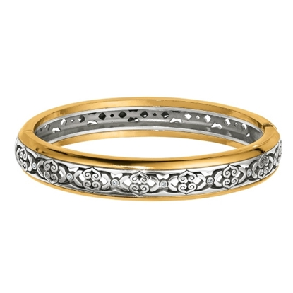 Picture of Brighton Intrigue Narrow Hinged Bangle