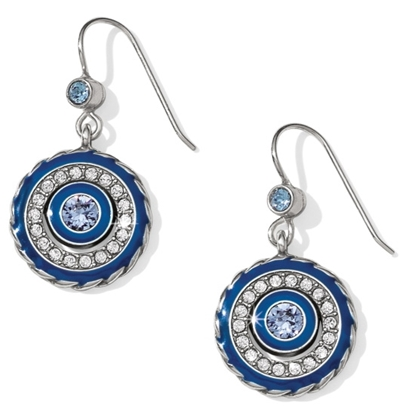Picture of Brighton Halo Eclipse French Wire Earrings